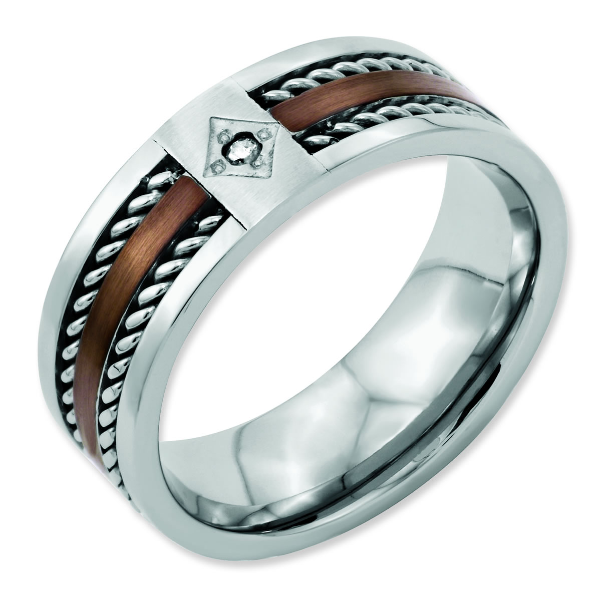 mens camo wedding bands with diamonds