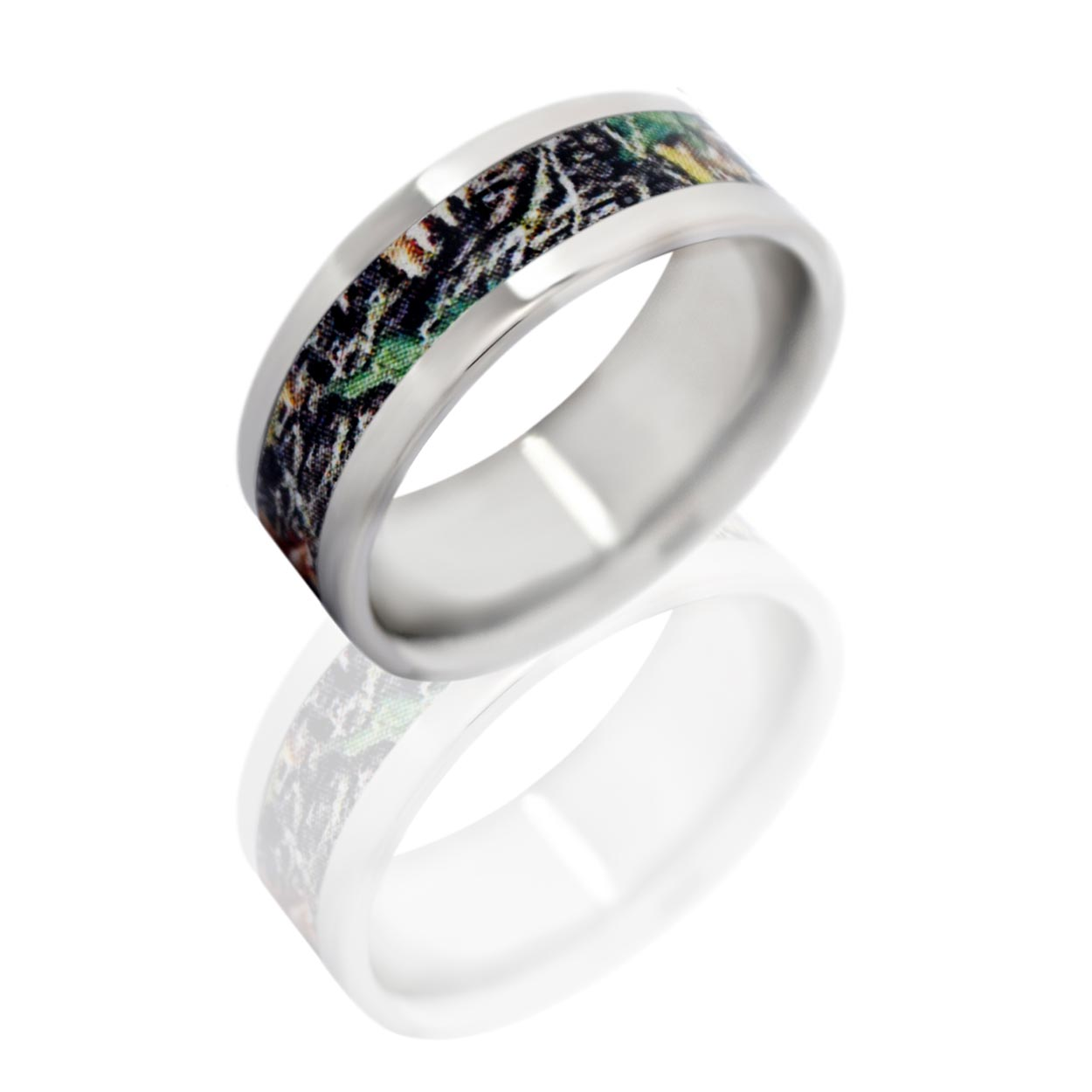 : mens camo wedding bands