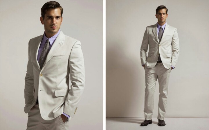 : mens casual beach wedding attire