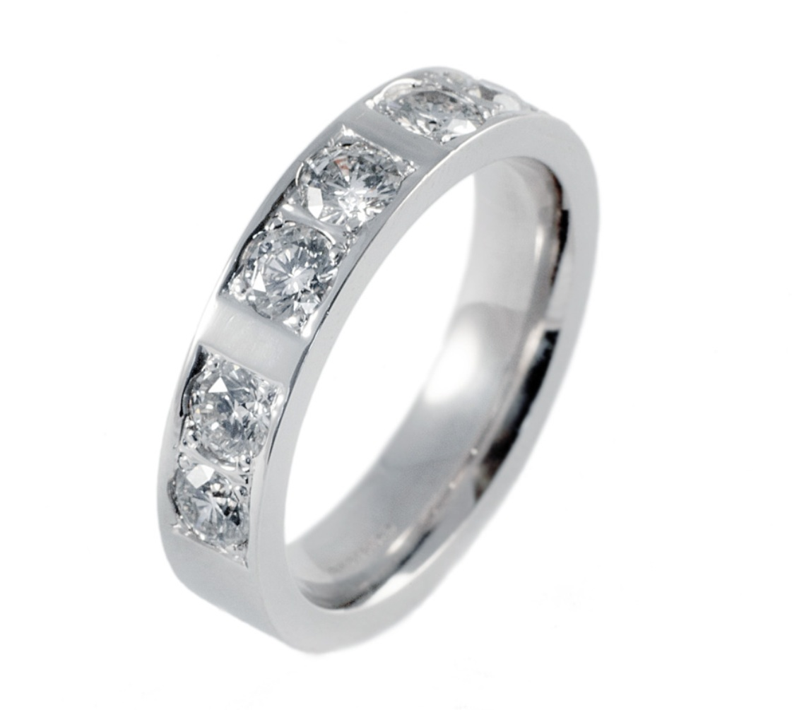 : mens diamond wedding ring