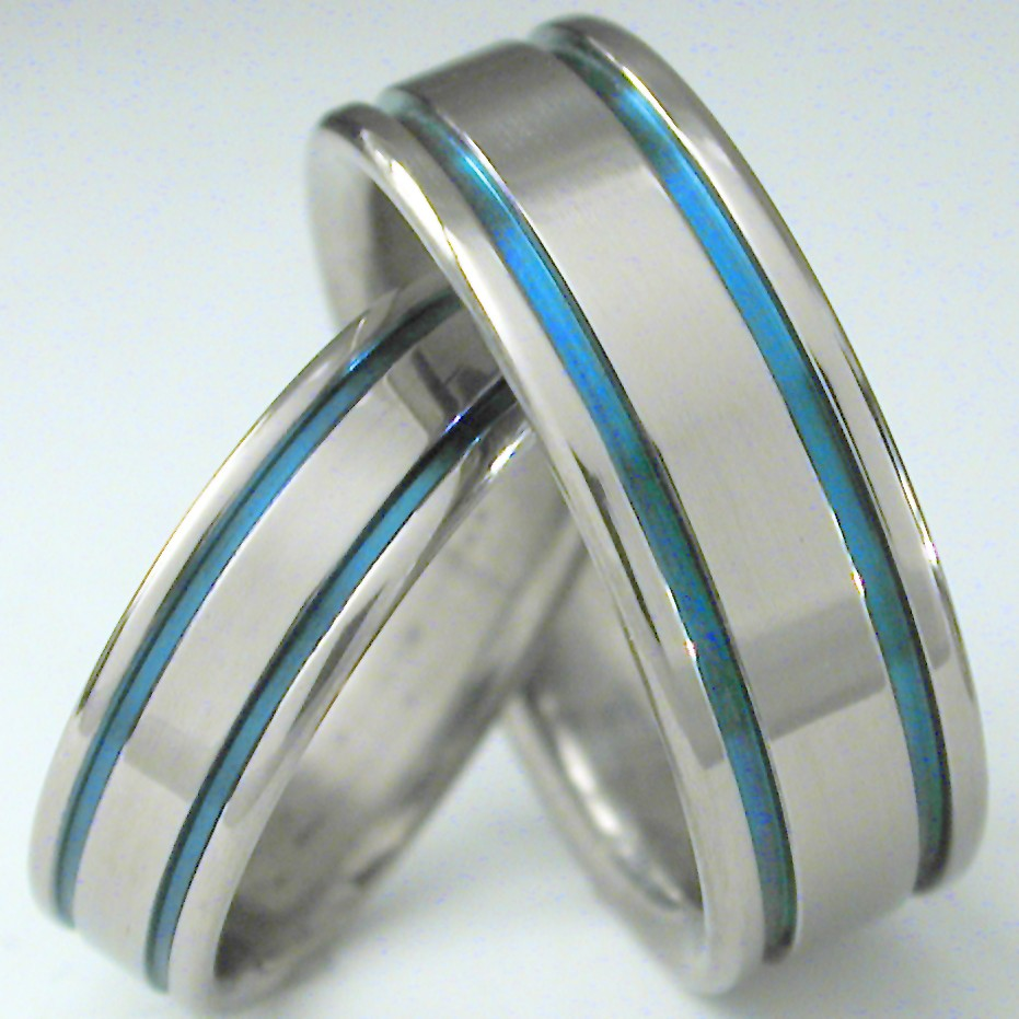 : mens titanium wedding band