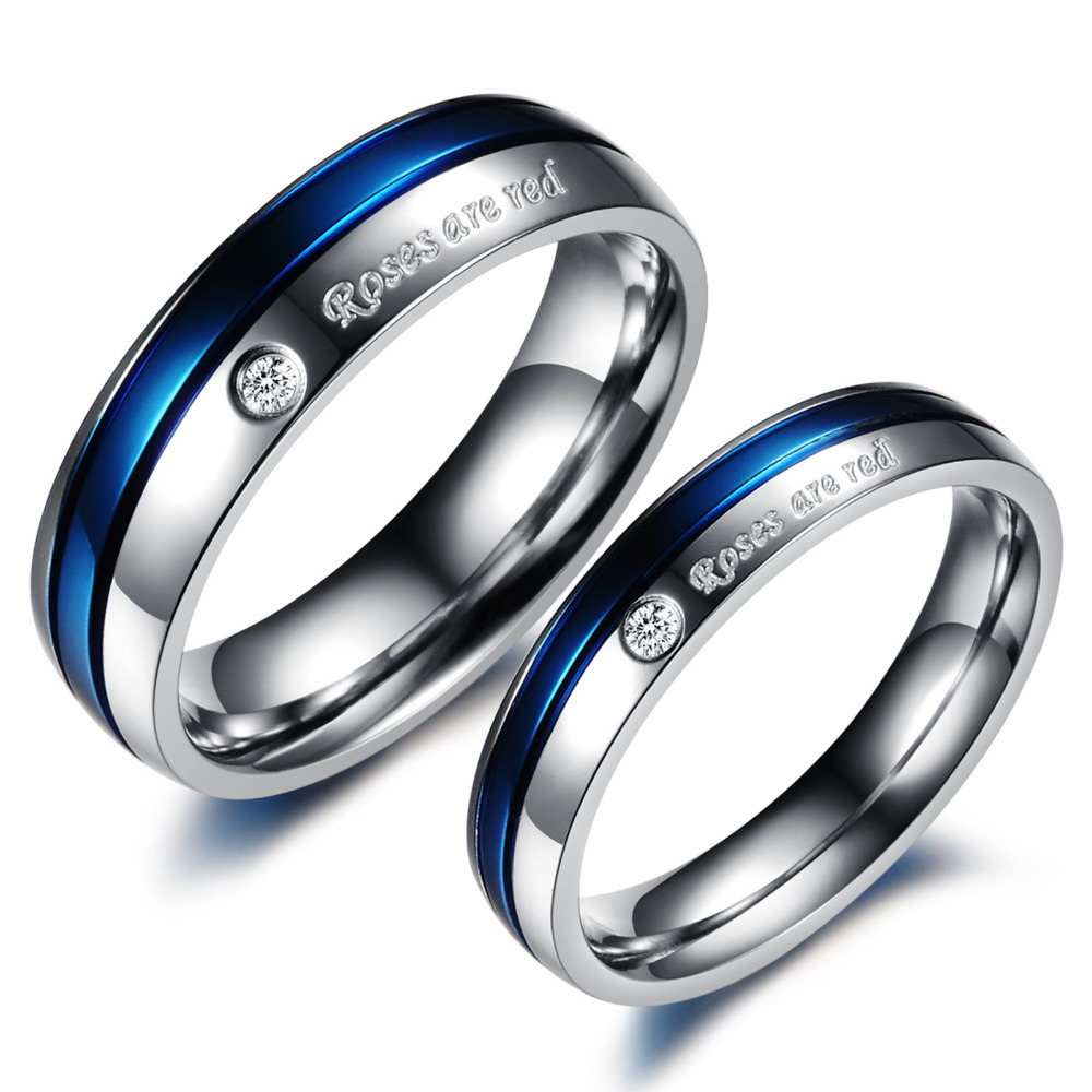 : mens titanium wedding bands with diamonds