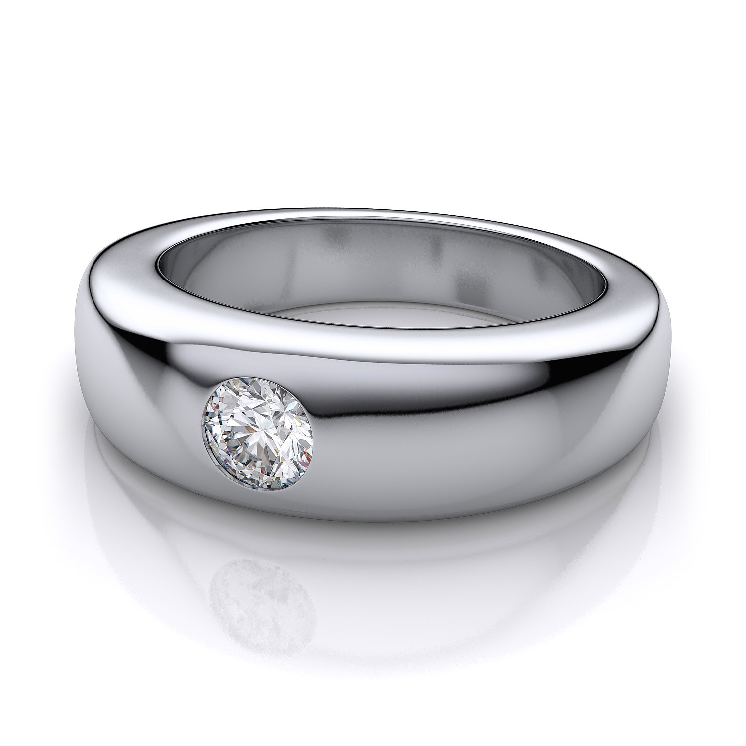 : mens wedding rings with diamonds