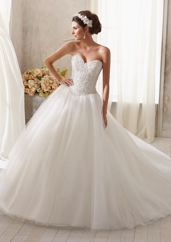 : mori lee bridal dresses