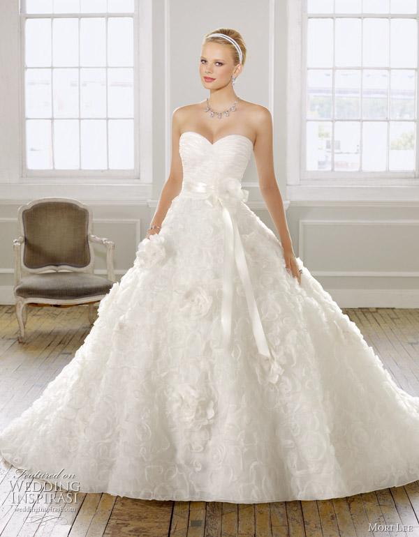 : mori lee bridal gowns