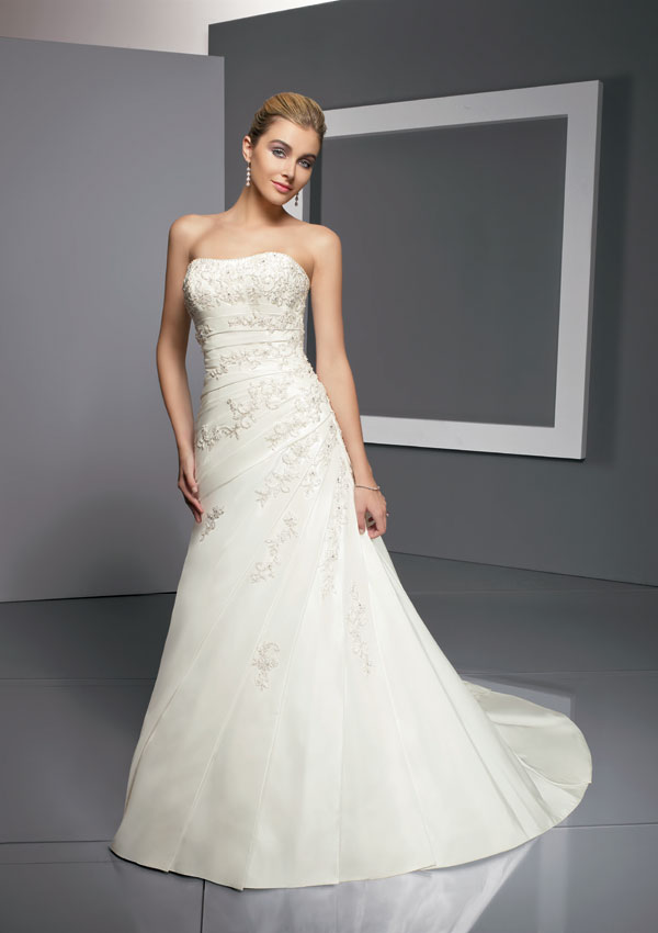 : mori lee dress