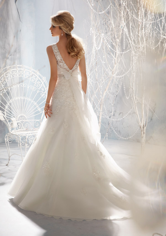 : mori lee wedding dresses 2013