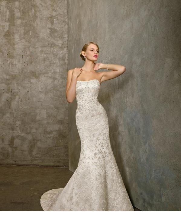 : mori lee wedding gown