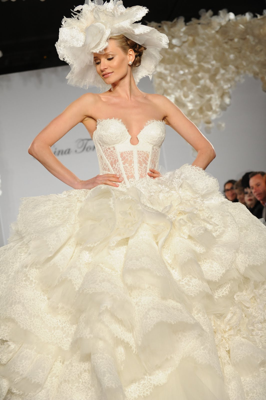 : pnina tornai wedding dresses 2013