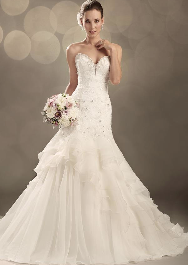 : really sparkly wedding dresses