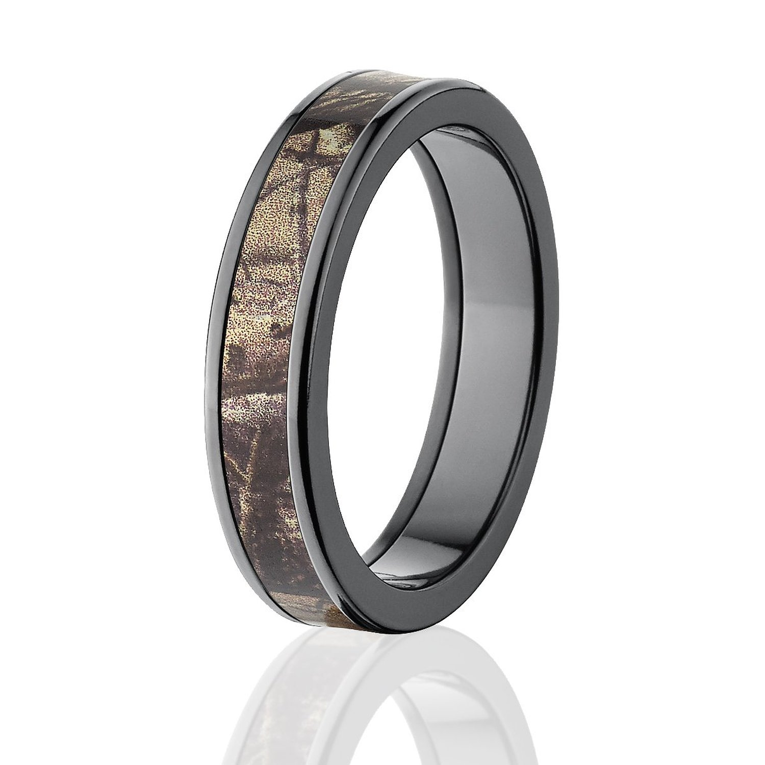 : realtree camo wedding band