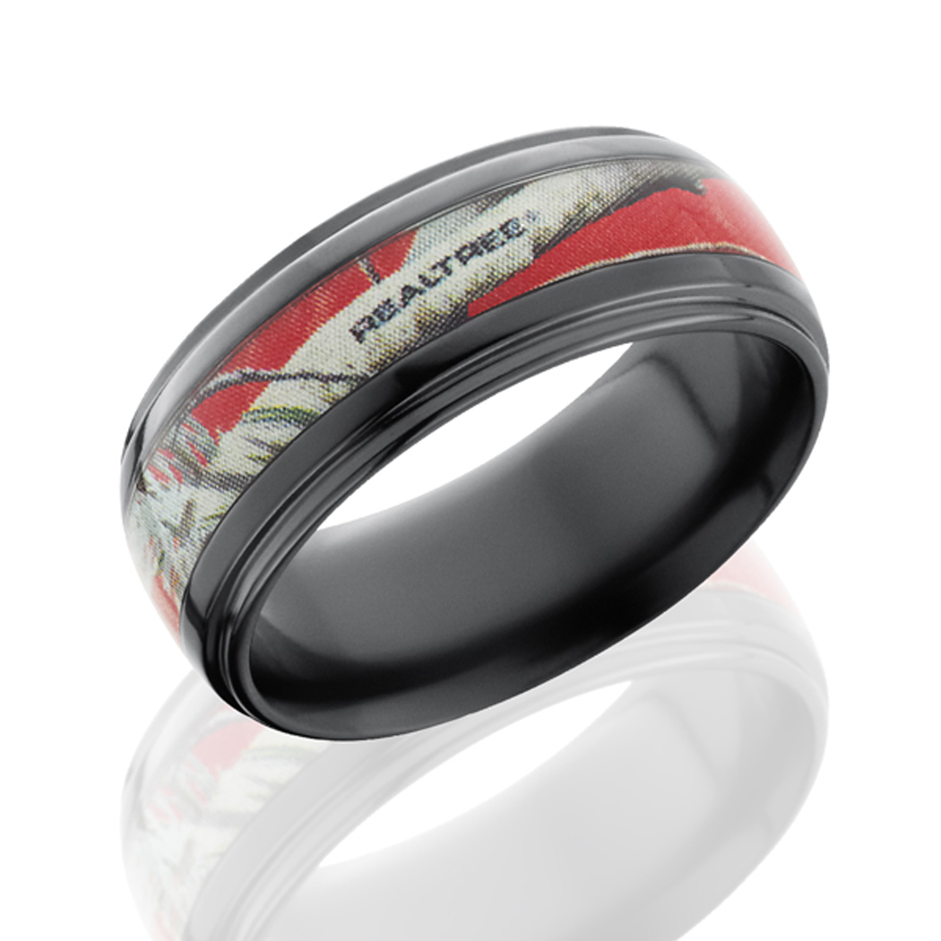 : realtree camo wedding bands for men