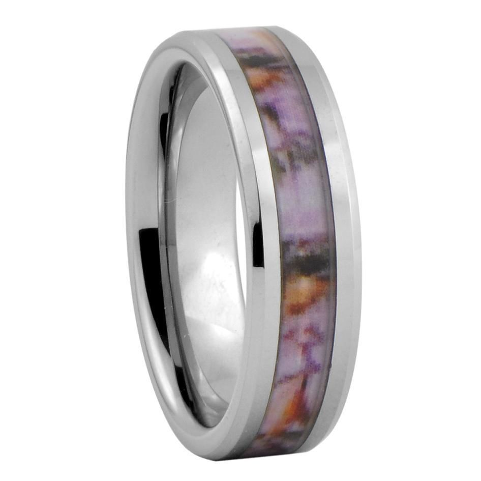 : realtree camo wedding bands