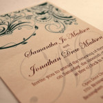 : reception wording on wedding invitations