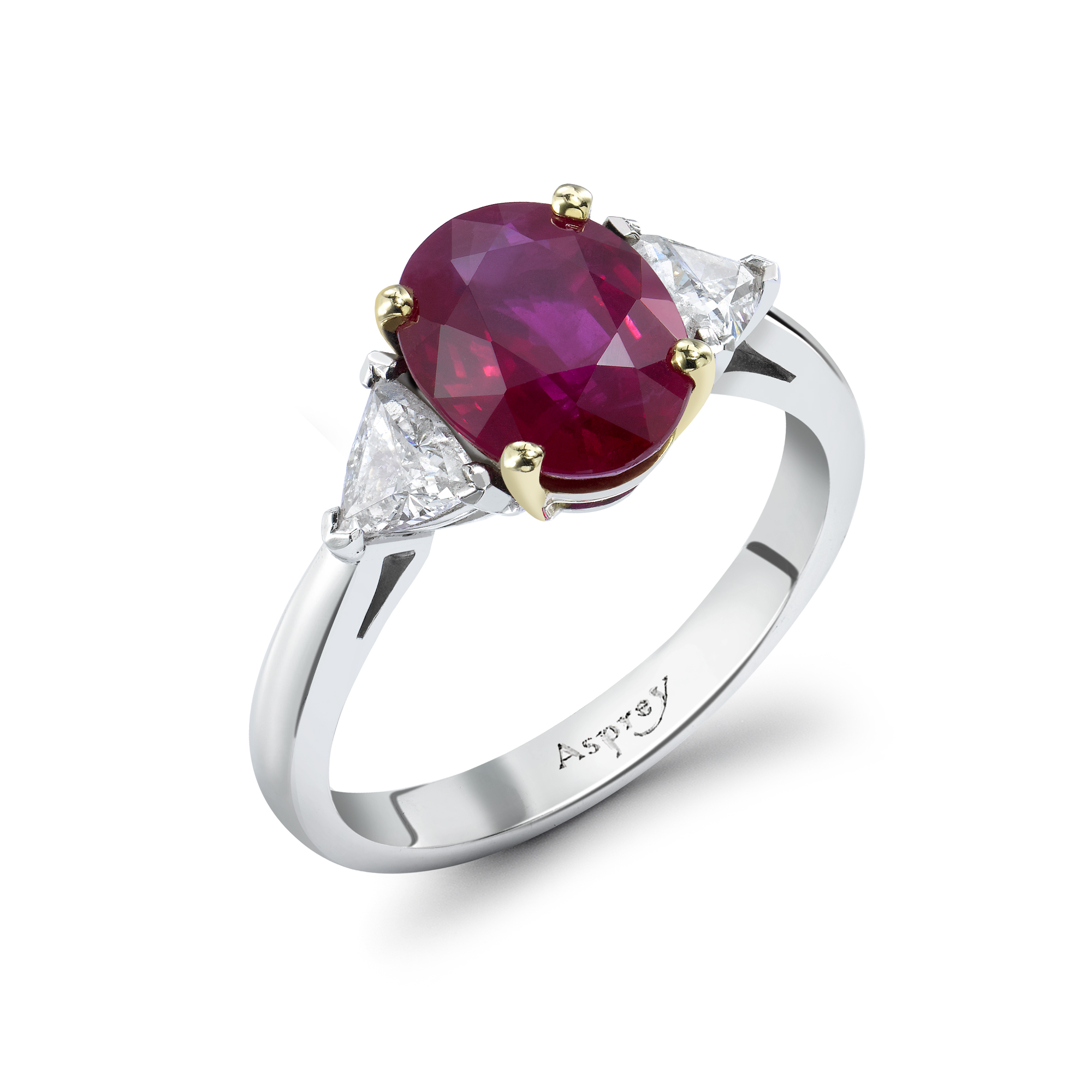 : ruby wedding bands