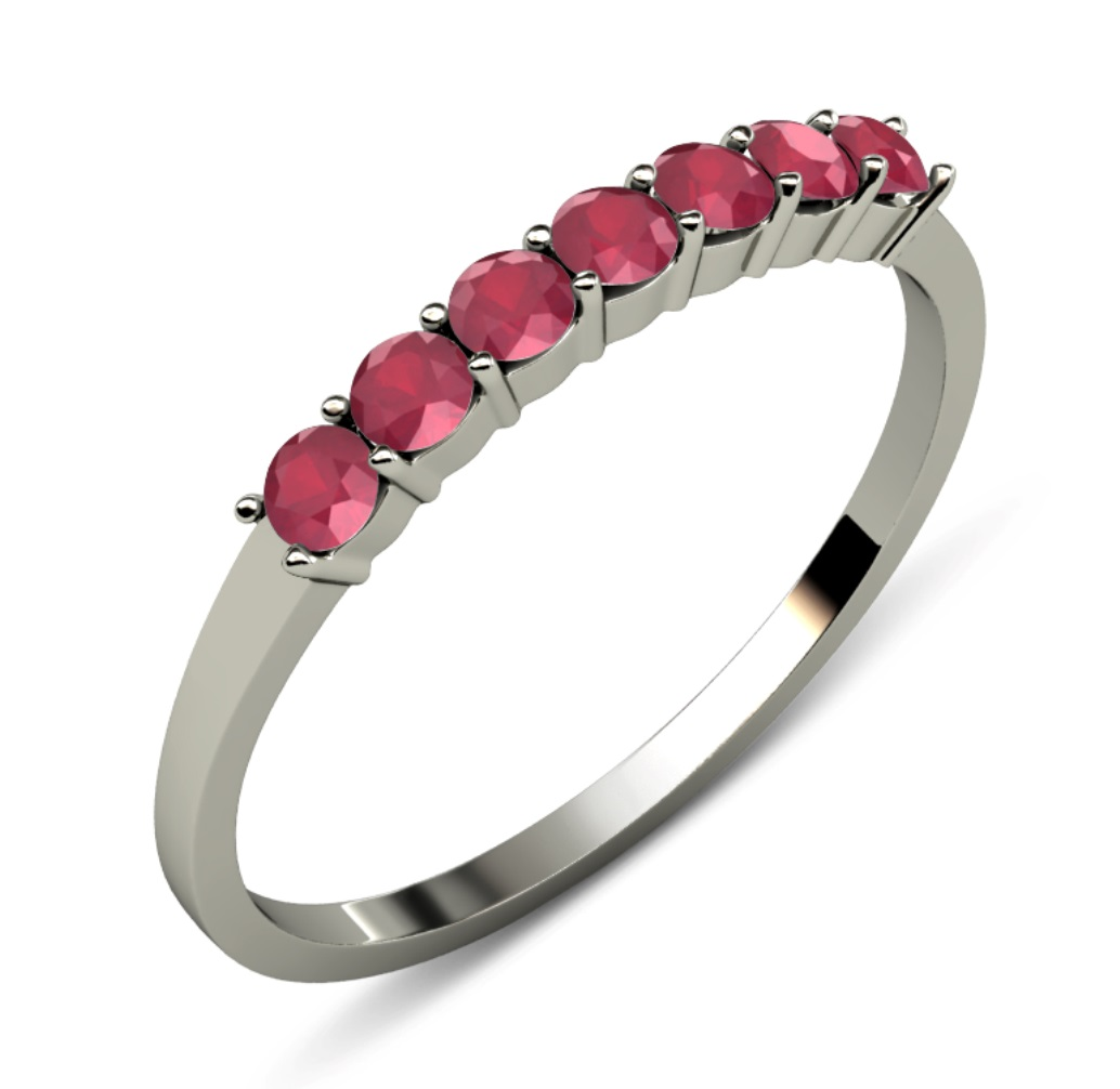 : ruby wedding ring