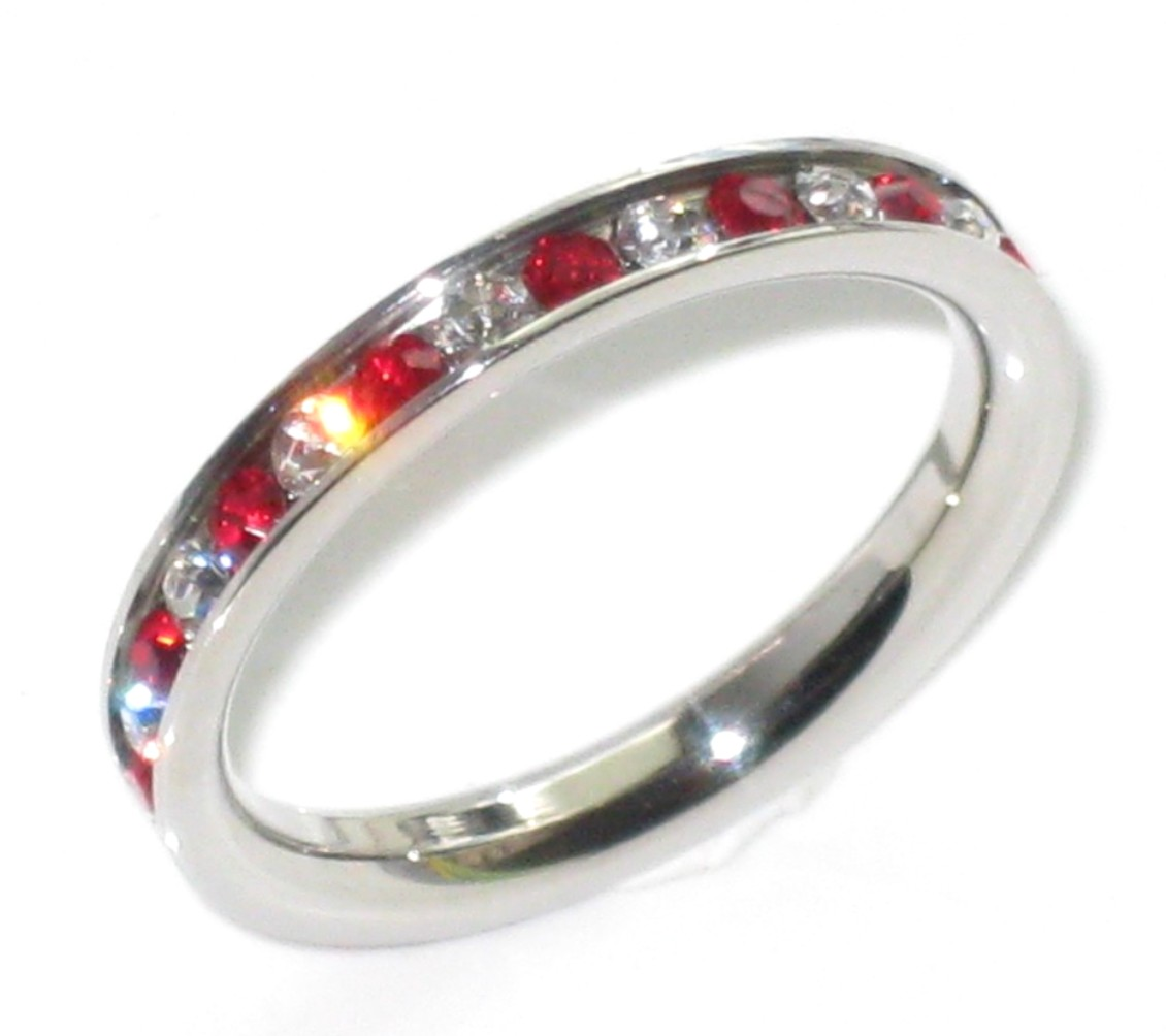 : ruby wedding rings