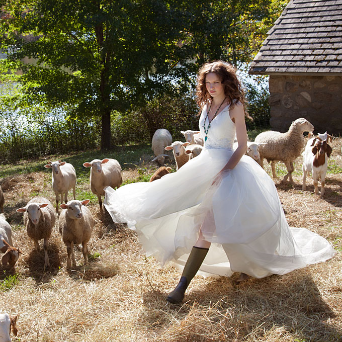 : rustic country wedding dresses