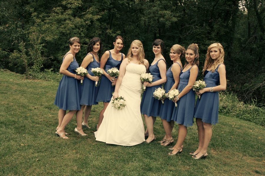 : rustic wedding bridesmaid dresses