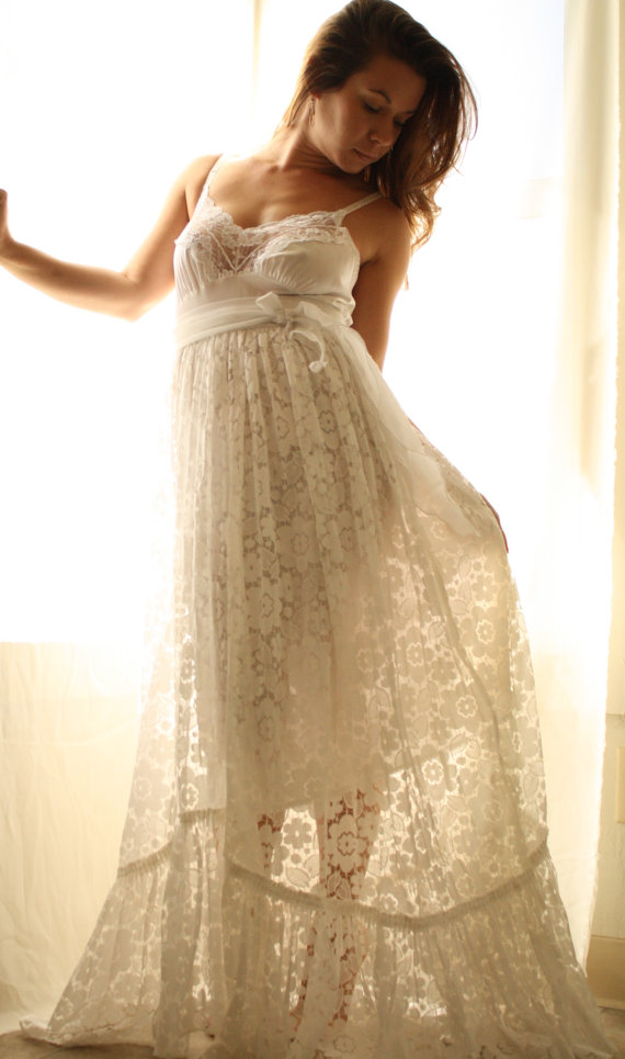 : rustic wedding dress designers