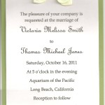 : sample wording for wedding invitations