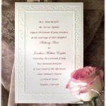 : samples of wedding invitations wording