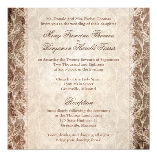 spanish wording for wedding invitations | Wedding Ideas and Wedding Planning Tips