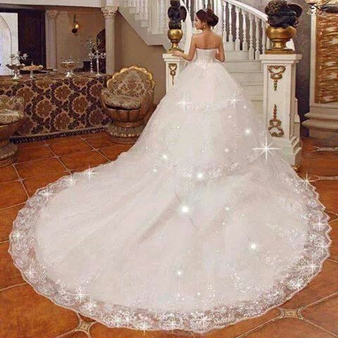 The White Sparkly Wedding Dresses Wedding Ideas And