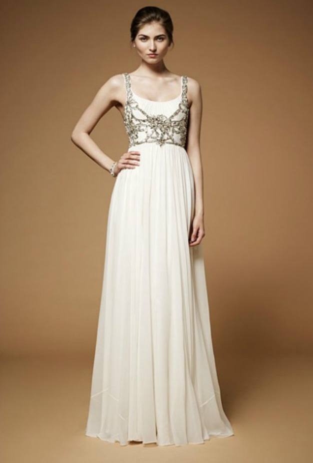 : sparkly wedding dress