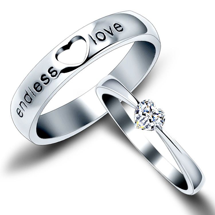 The Sterling Silver Wedding Rings