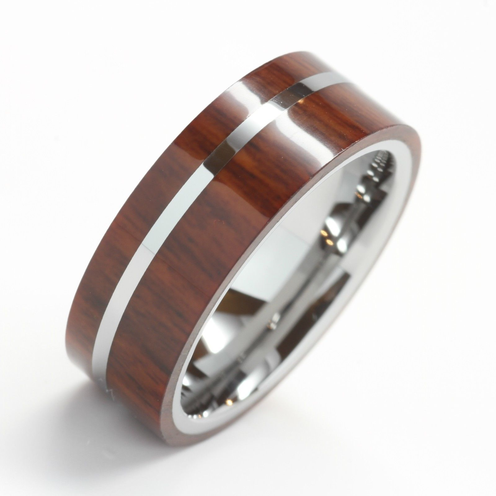 : titanium camo wedding bands