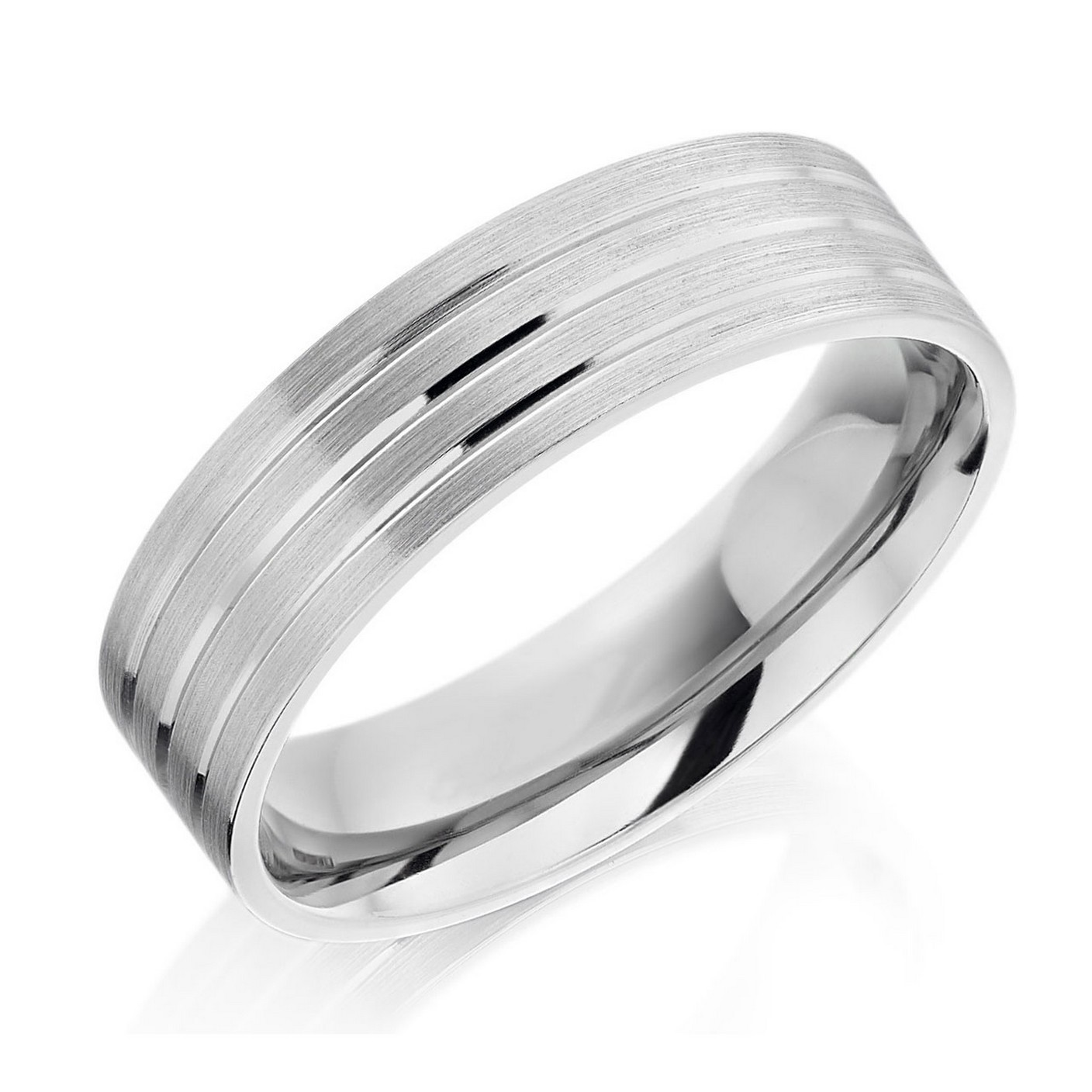: titanium men wedding bands