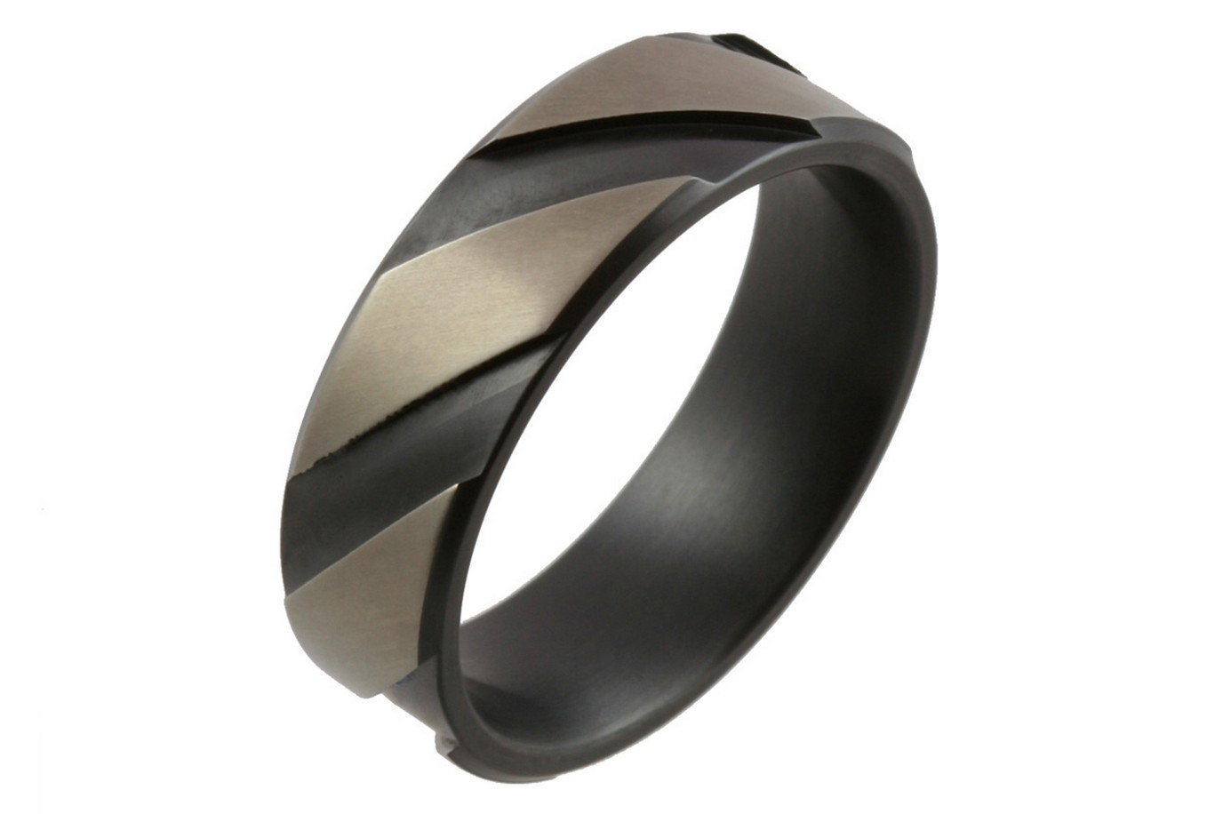 : titanium mens wedding bands