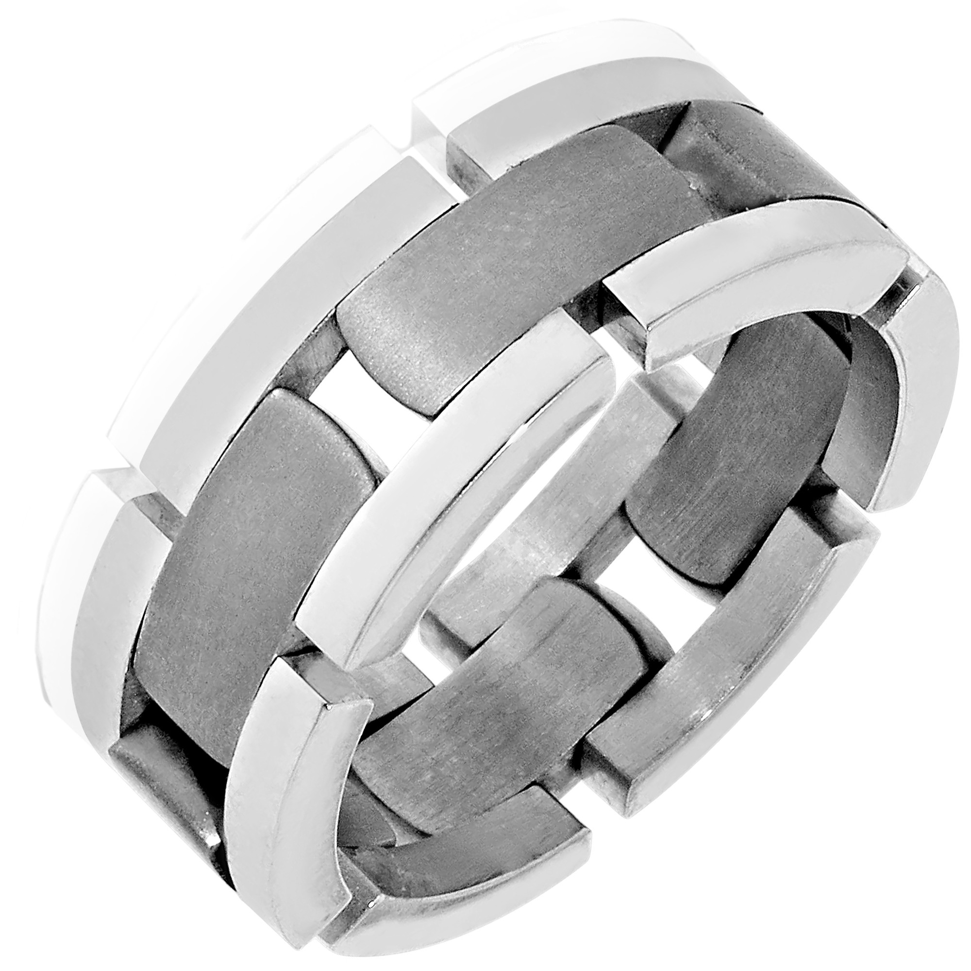 : titanium mens wedding ring