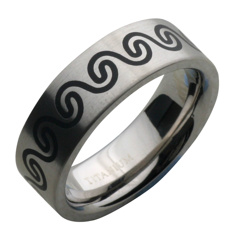 : titanium ring for men