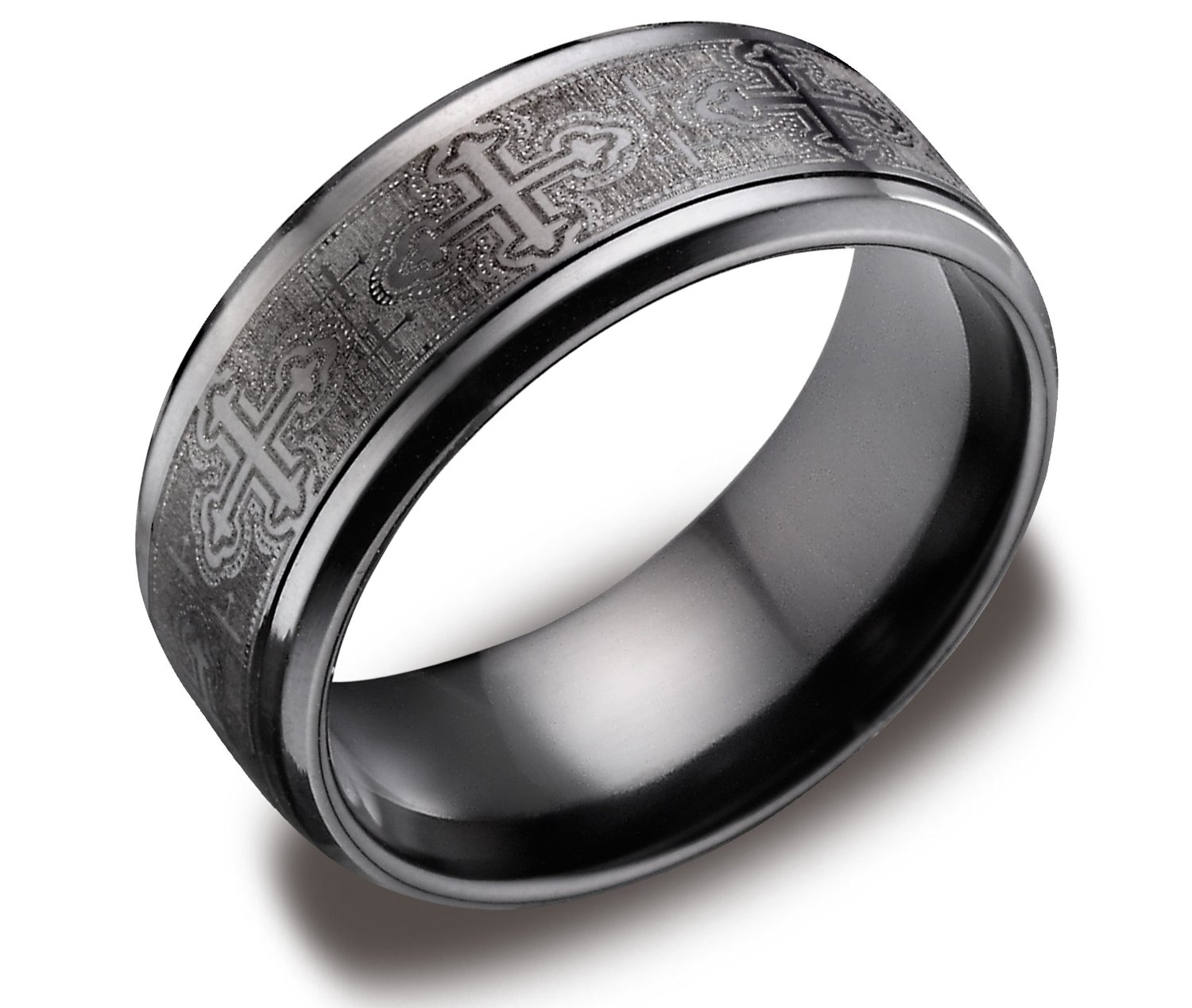 : titanium wedding bands for men