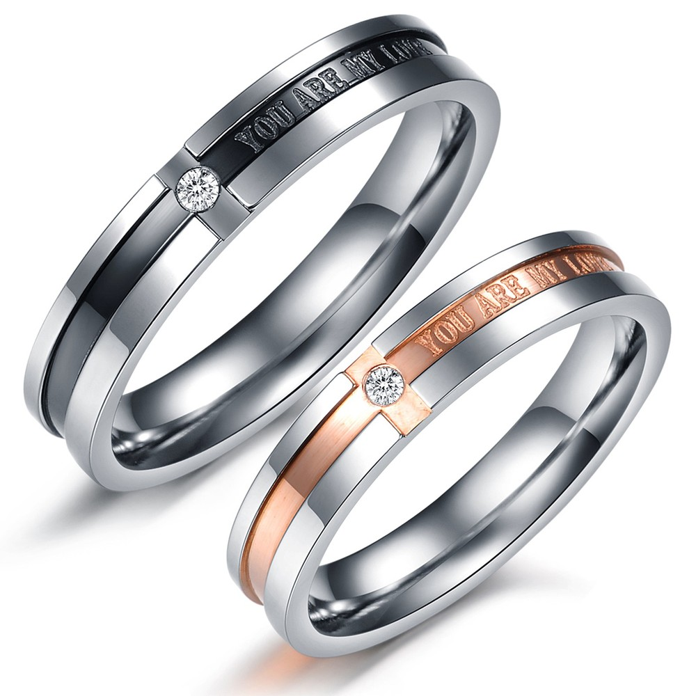 : titanium wedding bands