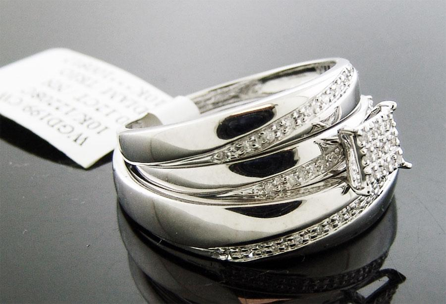 : trio wedding rings sets