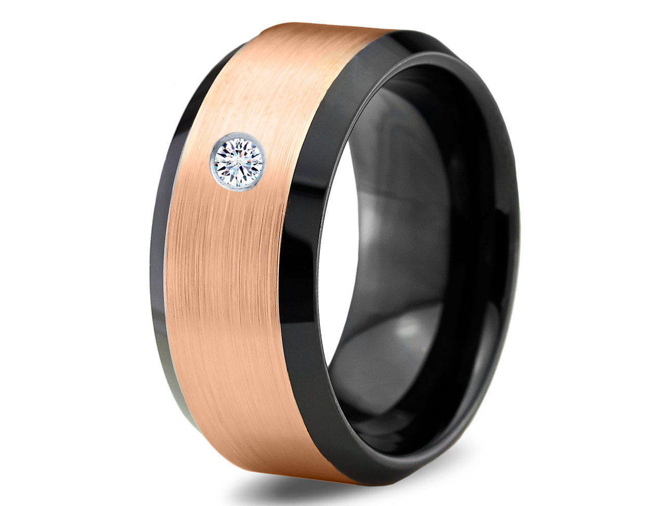 : tungsten carbide wedding band sets