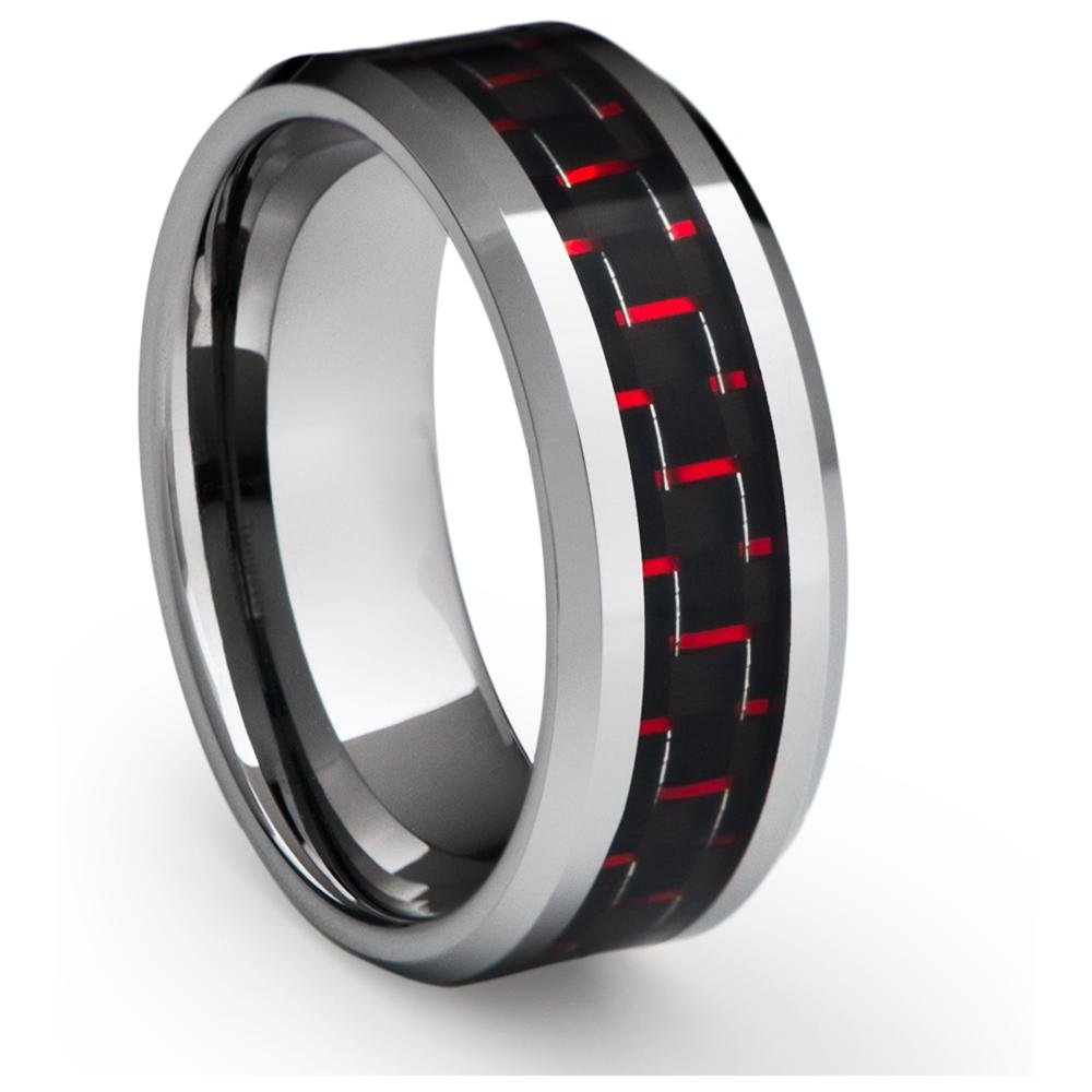 : tungsten mens wedding bands