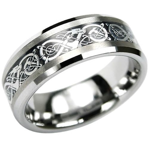 : tungsten wedding band sets