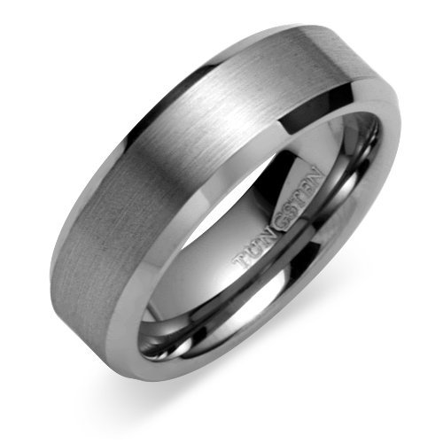 : tungsten wedding band