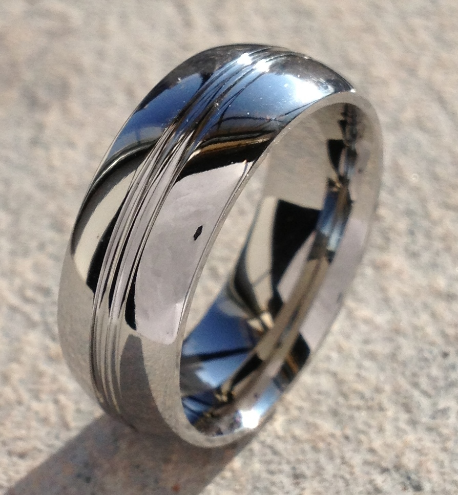: tungsten wedding bands for women