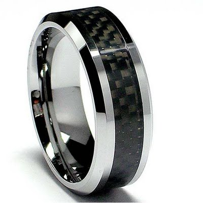 : tungsten wedding ring
