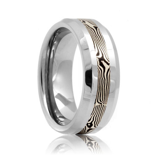 : tungsten wedding rings