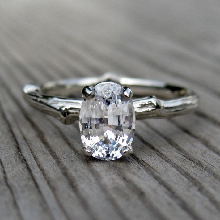 : unique antique engagement rings