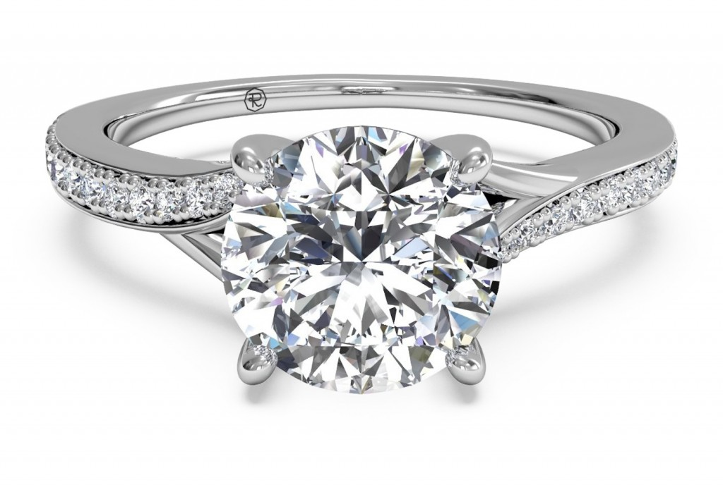 : unique engagement rings without diamonds