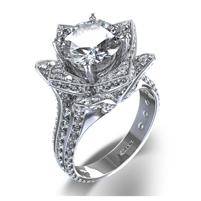 : unique settings engagement rings