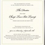 : unique wording for wedding invitations