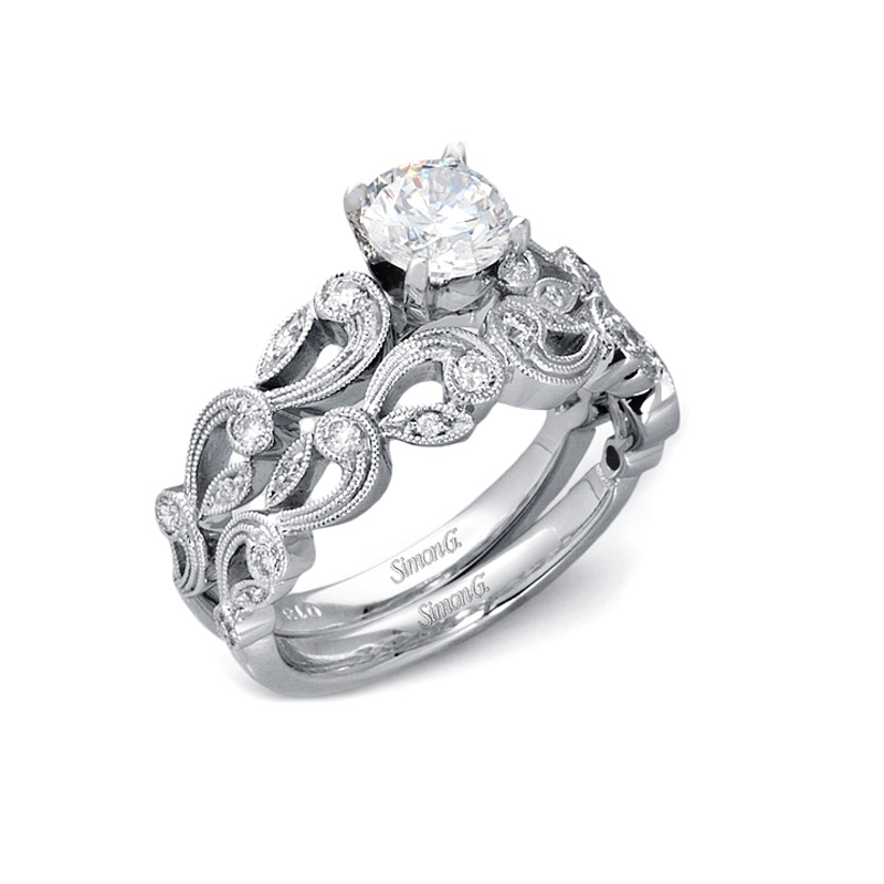: wedding and engagement rings